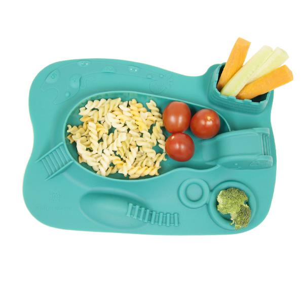 Παιδικό Πιάτο σιλικόνης amusemat φαγητού Marcus & Marcus