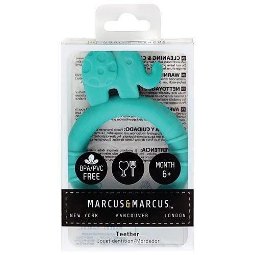 Βρεφικό Μασητικό σιλικόνης Ελεφαντάκι Marcus & Marcus Ασφαλή μαλακά τρισδιάστατα ζωάκια