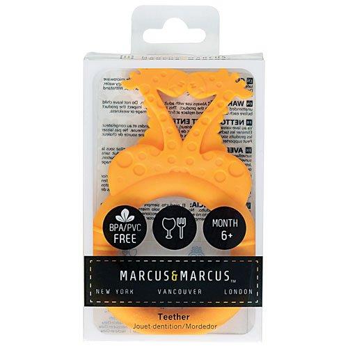 Βρεφικό Μασητικό σιλικόνης Καμηλοπάρδαλη Marcus & Marcus Ασφαλή μαλακά τρισδιάστατα ζωάκια