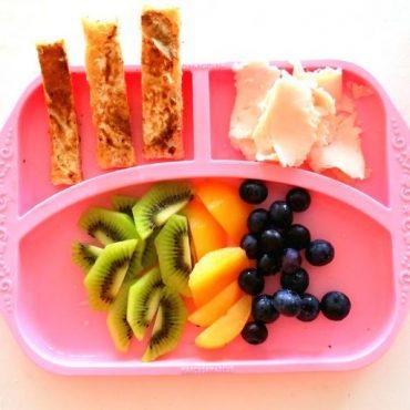 Παιδικό Πιάτο divided φαγητού σιλικόνης με χωρίσματα Ροζ Marcus & Marcus ροζ Ασφαλές, εύκαμπτο, αντιολισθητικό
