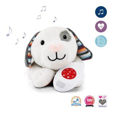 κουταβι DEX Ζωάκια ύπνου με χτύπο της καρδιάς & λευκούς ήχους ZAZU Πλενόμενος βοηθός συντροφιάς για τον ύπνο των μωρών με ακουστικό αισθητήρα για το κλάμα