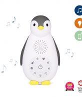zoe ZAZU Πιγκουίνος φορητή συσκευή νανουρίσματος & συντροφιάς με ήχο καρδιάς, λευκούς ήχους, ήχος της φύσης, και φωτάκι νυκτός, επαναφορτιζόμενο