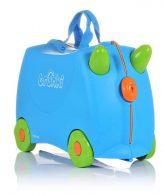 Trunki παιδική βαλίτσα τροχήλατη παιχνιδόκουτο Τerrance Μπλέ