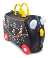 Trunki παιδική βαλίτσα τροχήλατη παιχνιδόκουτο pedro πειρατης