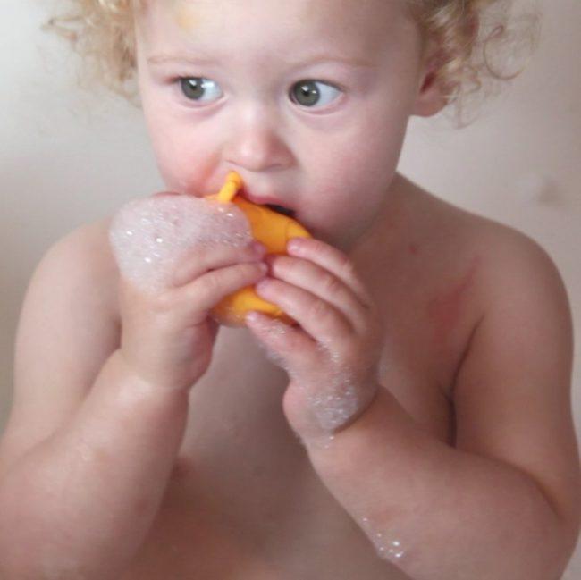 Παιχνίδια Μπάνιου σιλικόνης 3 Ζωάκια που Ανοίγουν για πλύσιμο μούχλας Marcus & Marcus Ασφαλή κατά των βακτηριδίων & μικροβίων,