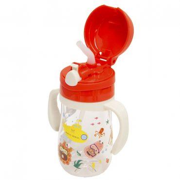 Παιδικό Μπουκάλι Tritan καλαμάκι σιλικόνης, χερούλια Marcus & Marcus