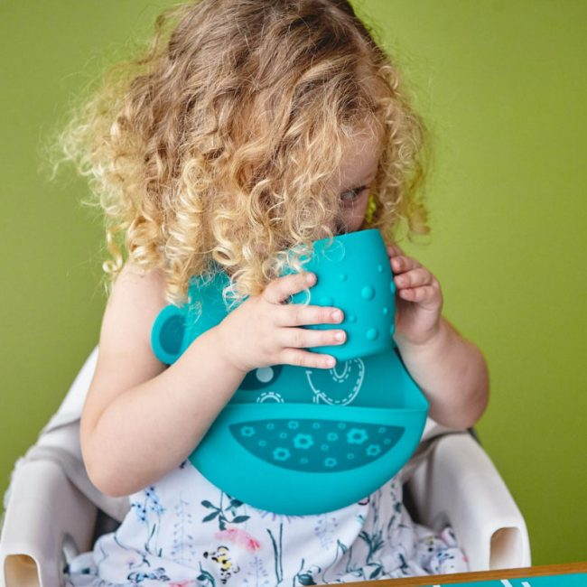 Βρεφικό Παιδικό Ποτήρι σιλικόνης καρούμπαλα Marcus & Marcus Μαλακό, εύκαμπτο, εκπαιδευτικό
