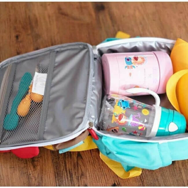 Iσοθερμική Παιδική Τσάντα βόλτας 2019 3D Marcus & Marcus Λιονταράκι