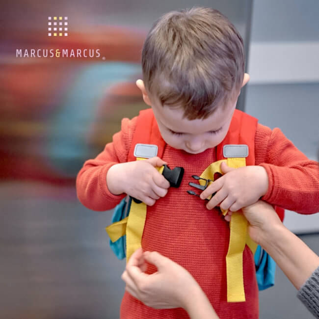 Ισοθερμική Τσάντα παιδική Marcus & Marcus 3D Ιπποπόταμος