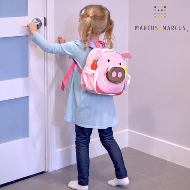 Παιδική Τσάντα βόλτας Ισοθερμική Γεύματος Γουρουνάκι Marcus & Marcus 3d