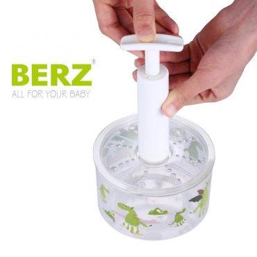 Αεροστεγή Δοχεία διατήρησης παιδικών τροφών Tritan με Κενό Αέρος & τρόμπα BERZ