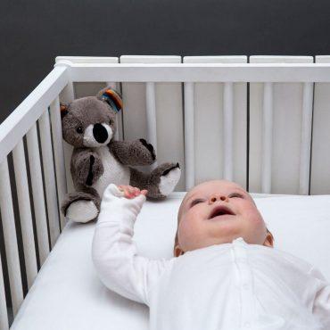 Κοάλα COCO Ζωάκια ύπνου νανουρίσματος με χτύπο καρδιάς & λευκούς ήχους ZAZU Πλενόμενος βοηθός συντροφιάς 8
