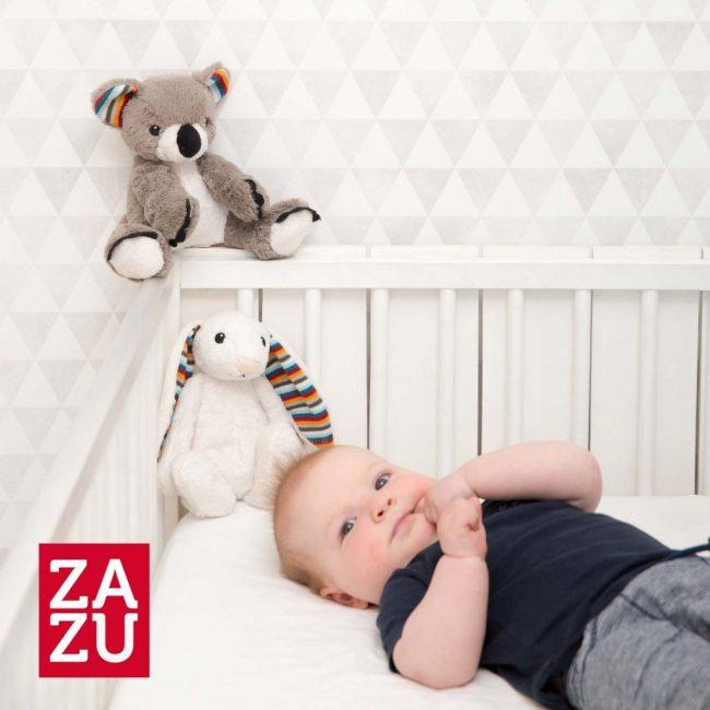 Κοάλα COCO Ζωάκια ύπνου νανουρίσματος με χτύπο καρδιάς & λευκούς ήχους ZAZU Πλενόμενος βοηθός συντροφιάς 7