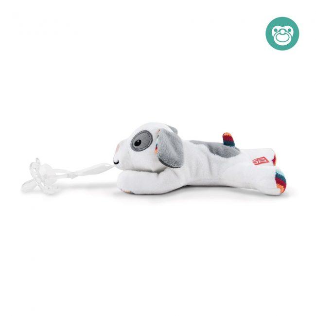 Dexy κουκλάκι πιπίλας & παρηγοριάς σκυλάκι ZAZU πολύ απαλό, συντροφιάς 4