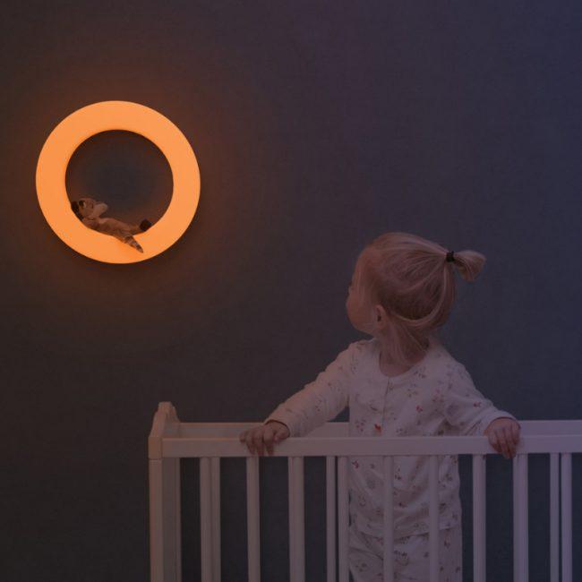 Έξυπνο παιδικό φωτιστικό τοίχου πολύχρωμο με 3 μαγνητικά μαλακά ΖΑΖU ζωάκια FAY η Αλεπού, REX το Ρακούν & OTIS η Κουκουβάγια. 7