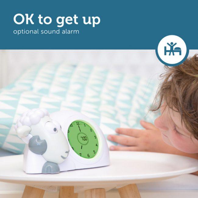 Ρολόι Sam παιδικό ξυπνητήρι ύπνου, φωτάκι νυκτός προβατάκι ZAZU για την εκμάθηση του πρωινού ξυπνήματος πολύχρωμο 8