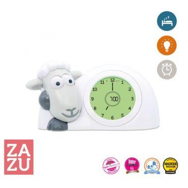 Ρολόι Sam παιδικό ξυπνητήρι ύπνου, φωτάκι νυκτός προβατάκι ZAZU για την εκμάθηση του πρωινού ξυπνήματος πολύχρωμο 12