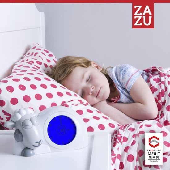 Ρολόι Sam παιδικό ξυπνητήρι ύπνου, φωτάκι νυκτός προβατάκι ZAZU για την εκμάθηση του πρωινού ξυπνήματος πολύχρωμο 11