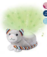 Γάτα Kiki βρεφικός Προτζέκτορας με χτύπο καρδιάς λευκό ήχο μελωδία ZAZU Συσκευή προβολής