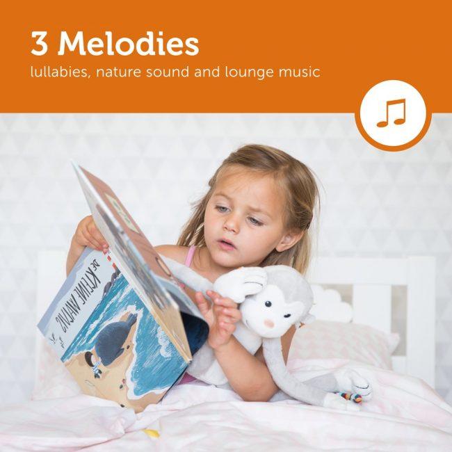 Θυμίζουν στα μωρά, ήχους που άκουγαν στην μήτρα κατά την εγκυμοσύνη και τα νανουρίζουν γαλήνια σε λίγα λεπτά