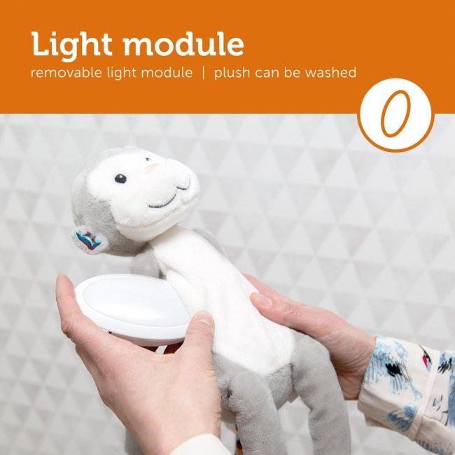 βοηθός συντροφιάς για τον ύπνο με φωτάκι & Αυτόματο κλείσιμο σε 20 λεπτά