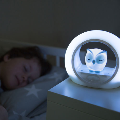 Lou Κουκουβάγια παιδικό Φώς νυκτός με ηχητικό αισθητήρα ZAZU
