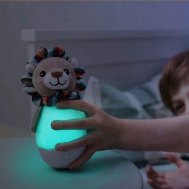 Lex Λιονταράκι Φωτάκι παιδικό Νύχτας Κουνιστό πολύχρωμο ZAZU