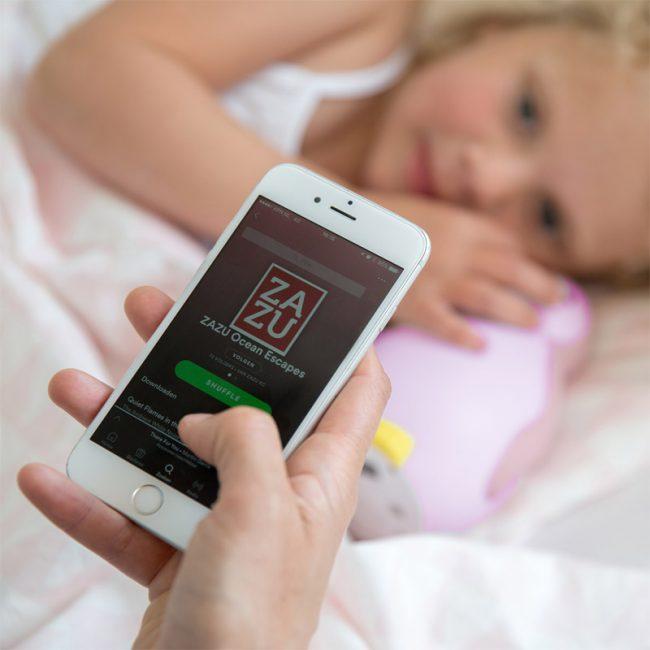 Pam Φώς νυκτός, Ξυπνητήρι εκμάθησης, Ασύρματο Ηχείο, ZAZU πιγκουίνος έξυπνη συσκευή Bluetooth, πολύχρωμο