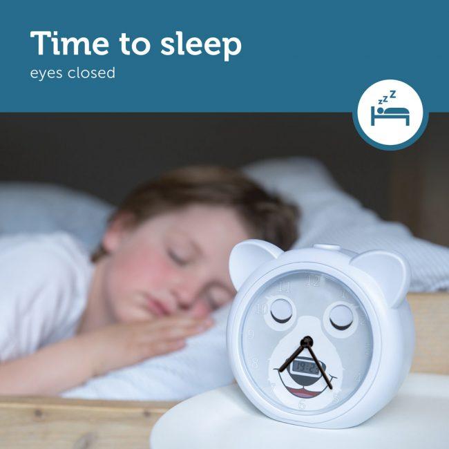 BOBBY Ρολόι ξυπνητήρι εκμάθησης ξυπνήματος & φωτάκι Νυκτός ZAZU gr