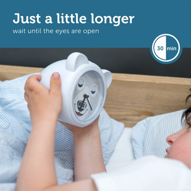 BOBBY Ρολόι ξυπνητήρι εκμάθησης ξυπνήματος & φωτάκι Νυκτός ZAZU 3