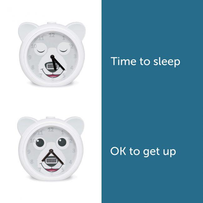 BOBBY Ρολόι ξυπνητήρι εκμάθησης ξυπνήματος & φωτάκι Νυκτός ZAZU