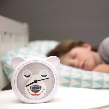 BOBBY Ρολόι ξυπνητήρι εκμάθησης ξυπνήματος & φωτάκι Νυκτός ZAZU 6