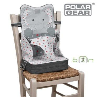 φορηρό κάθισμα Φαγητού 3 σημείων Φορητό Τσαντάκι Ελεφαντάκι polar gear