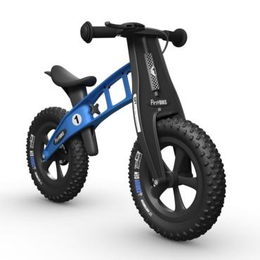 Ποδήλατο Ισορροπίας FirstΒΙΚΕ FAT Racing Limited Μπλε με Φρένο