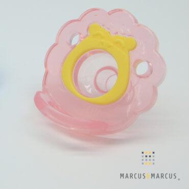 Σαλιάρα βιολογική με πιπίλα Σιλικόνης Lion marcus & marcus