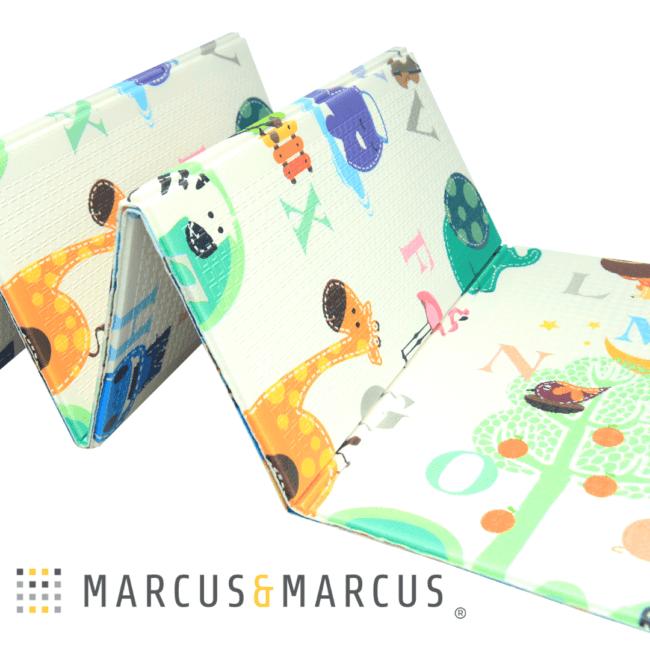 Χαλί Παιχνιδιου 2 Όψεων ABC foldable Marcus & Marcus