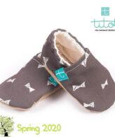 Βρεφικά Παπούτσια Αγκαλιάς Παπιγιόν baby run Χειροποίητα Βαμβακερό 24-36 Mηνών | TiTot Νο 24