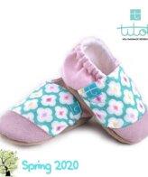 Βρεφικά Παπούτσια Αγκαλιάς Μεντία baby run Χειροποίητα 18-24 Mηνών | TiTot Νο 22