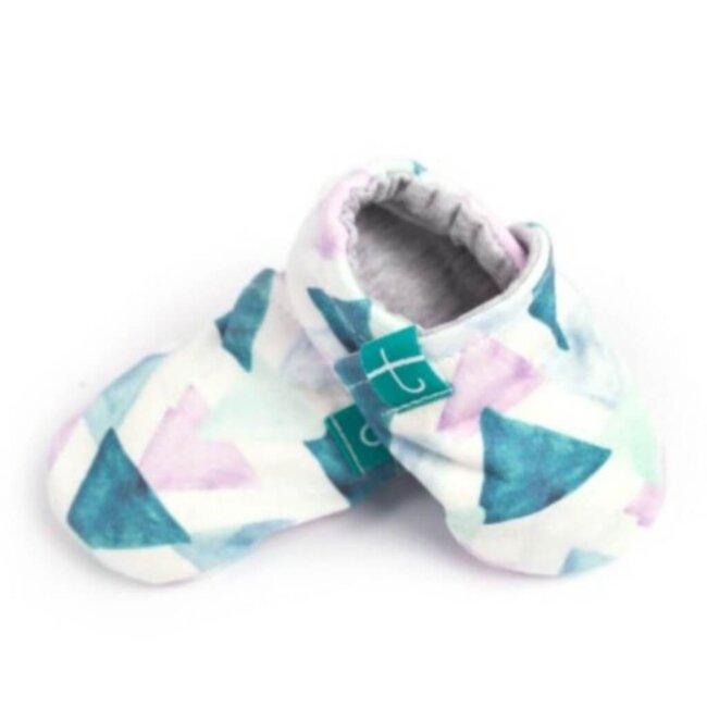 Βρεφικά Παπούτσια Αγκαλιάς Crawl Λιμνοθάλασσα baby run Χειροποίητα 18-24 Mηνών | TiTot Νο 22