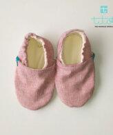 Βρεφικά Παπούτσια Αγκαλιάς Κοκκινάκι σε καμβά baby run Χειροποίητα Βαμβακερό18-24 Mηνών | TiTot Νο 22