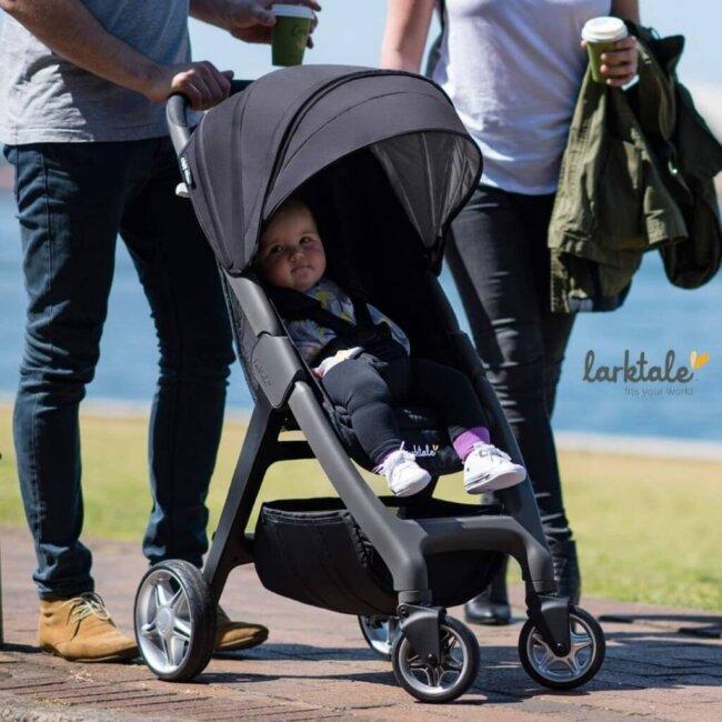 Παιδικό καρότσι για μωρά Larktale SpaceFrame chit chat 20 Knight Rider που διπλώνει 6.5 kg