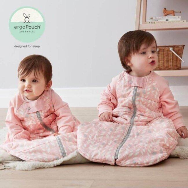 Παιδικός Υπνόσακος ergoPouch Cocoon Spring Leaves 2 in 1 Sleep Suit για παιδιά 2-4 ετών 2.5 TOG