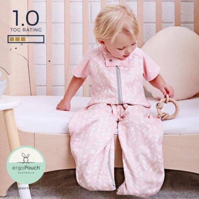 Παιδικός Υπνόσακος ergoPouch Cocoon Spring Leaves 2 in 1 Sleep Suit για παιδιά 2-4 ετών 1.0 TOG