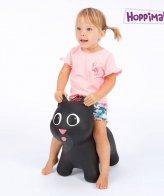 Hoppimals Φουσκωτή Γάτα Χοπ Χοπ Μαύρη