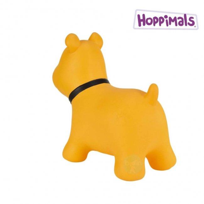 Hoppimals Φουσκωτός Σκύλος Χοπ Χοπ Κίτρινος