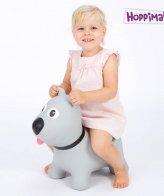 Hoppimals Φουσκωτός Σκύλος Χοπ Χοπ Γκρί