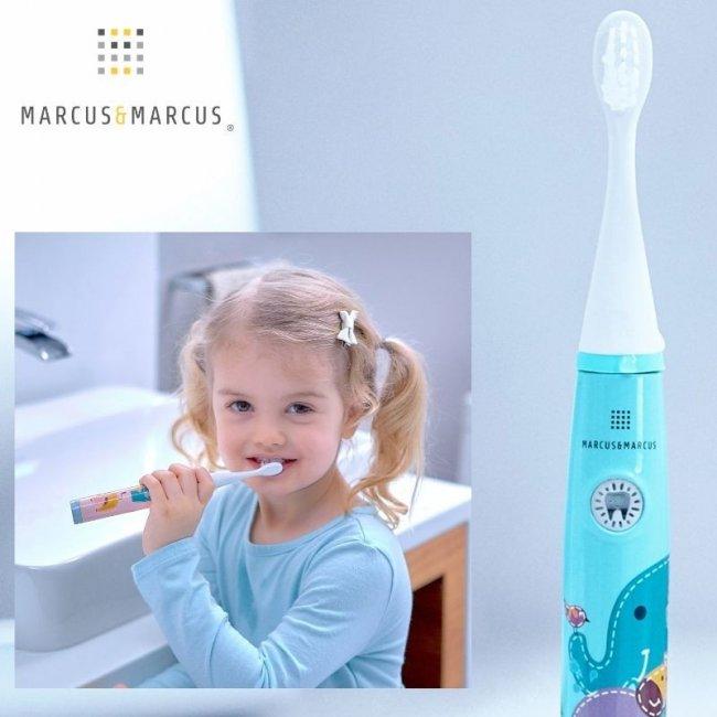 Ρόζ Παιδική Ηλεκτρική Οδοντόβουρτσα Oral Sonic Electric Marcus & Marcus kids