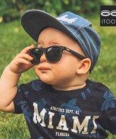 iTooTi Μαύρα Βρεφικά Γυαλιά Ηλίου 6-30 Μηνών