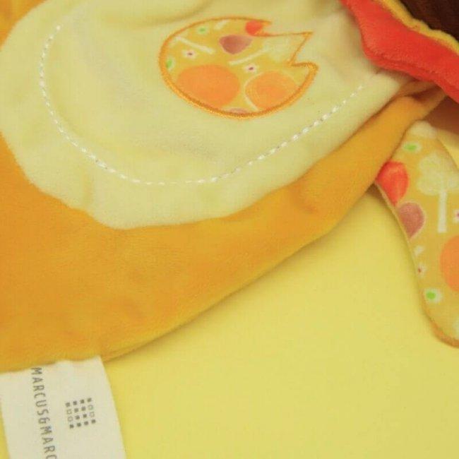 Βρεφικό Πανάκι παρηγοριάς αγκαλιάς με πιπίλα Ζωάκι Marcus & Marcus Λιονταράκι Doudou comforter