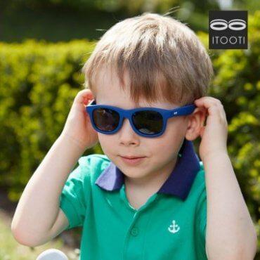 iTooTi Μπλέ Παιδικά Γυαλιά Ηλίου 3-5 ετών